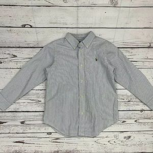 Little Boys size 6 Long Sleeve Ralph Lauren Shirt